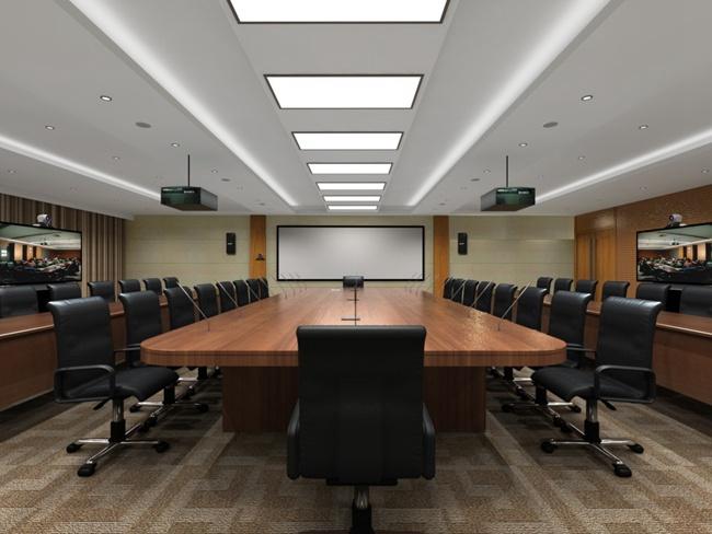 吉利领克张家口工厂智能会议室 (1)